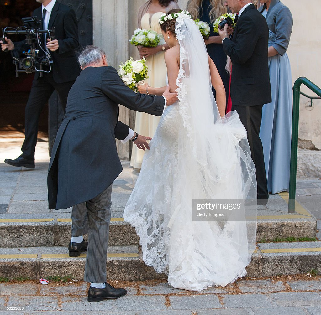 Juan Zorreguieta And Andrea Wolf Get Married in Vienna : News Photo