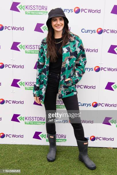 Andrea Zara attends KISSTORY On The Common 2019 at Streatham Common on July 27, 2019 in London, England.