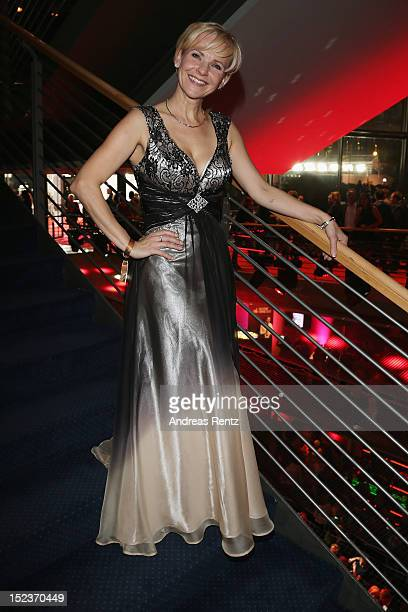 AndreaKathrin Loewig attends the 'Goldene Henne' 2012 award after show party on September 19 2012 in Berlin Germany