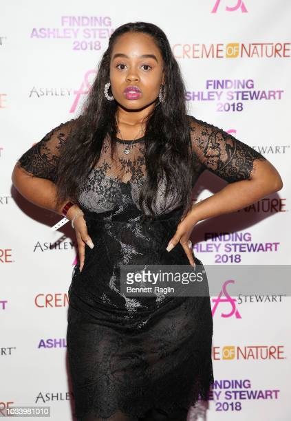 AndreaRachel Parker attends Finding Ashley Stewart 2018 at Kings Theatre on September 15 2018 in Brooklyn New York