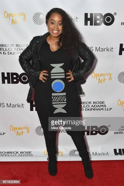 AndreaRachel Parker attends Opening Act's 12th Annual Benefit Play Reading 'Hear Me Here' At New World Stages on March 13 2018 in New York City