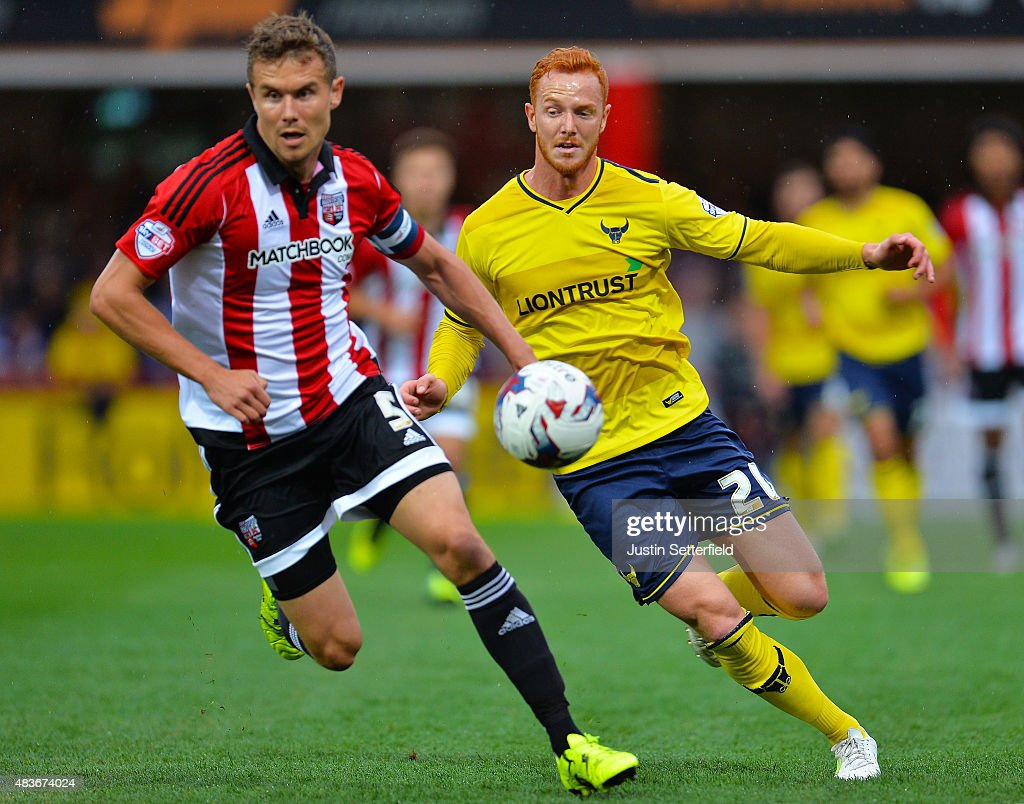 Brentford v Oxford United - Capital One Cup First Round