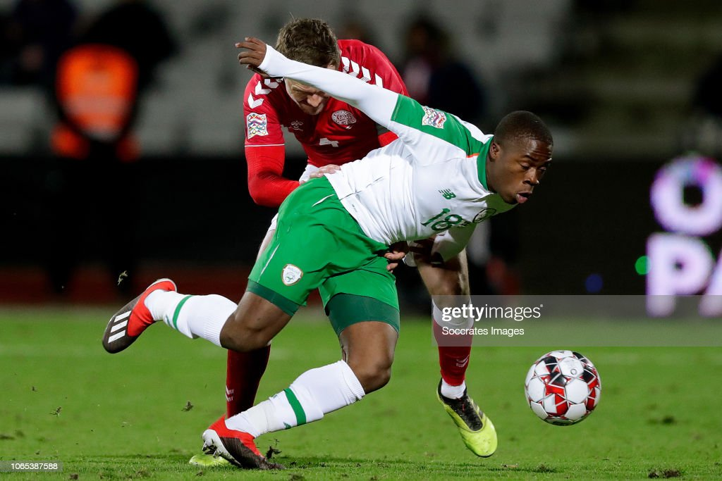 Denmark  v Republic of Ireland  -UEFA Nations league : News Photo
