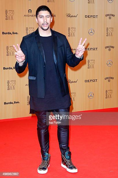 Andreas Bourani attends the Kryolan At Bambi Awards 2015 Red Carpet Arrivals on November 12 2015 in Berlin Germany