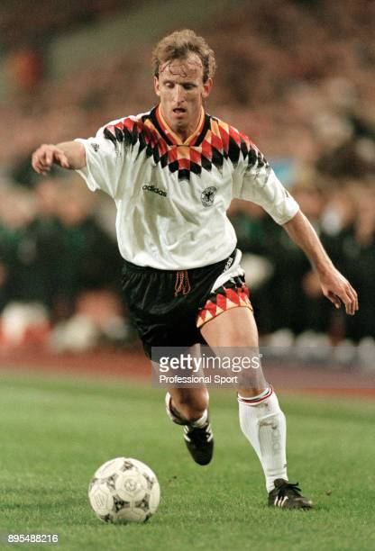 Andreas Brehme in action for Germany circa 1994