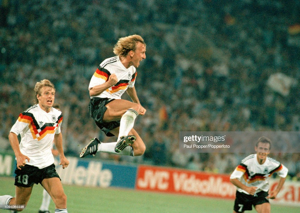 West Germany v Argentina - 1990 FIFA World Cup Final : News Photo