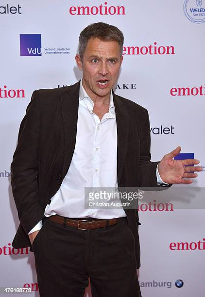 Andreas Brucker attends Emotion Award at the Laeiszhalle on June 9 2015 in Hamburg Germany