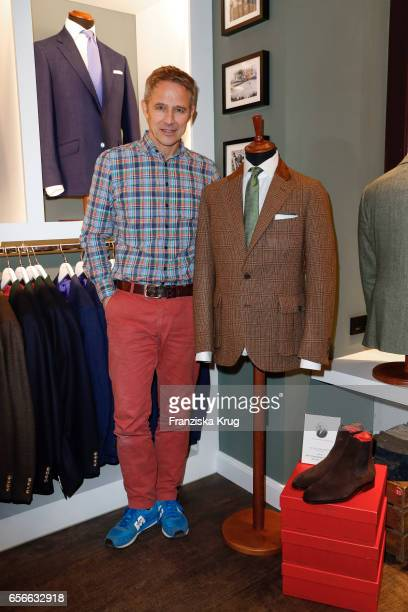 Andreas Brucker attends the Anton Meyer store opening on March 22 2017 in Hamburg Germany
