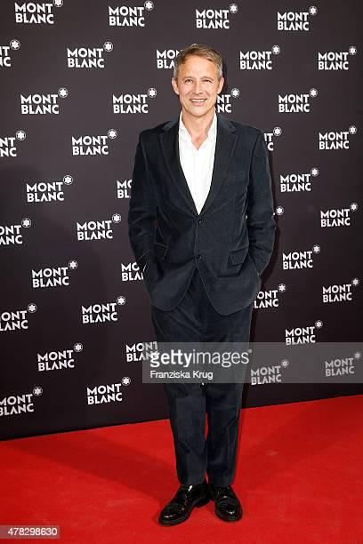 Andreas Brucker attends the Montblanc De La Culture Arts Patronage Award 2015 on June 24 2015 in Hamburg Germany