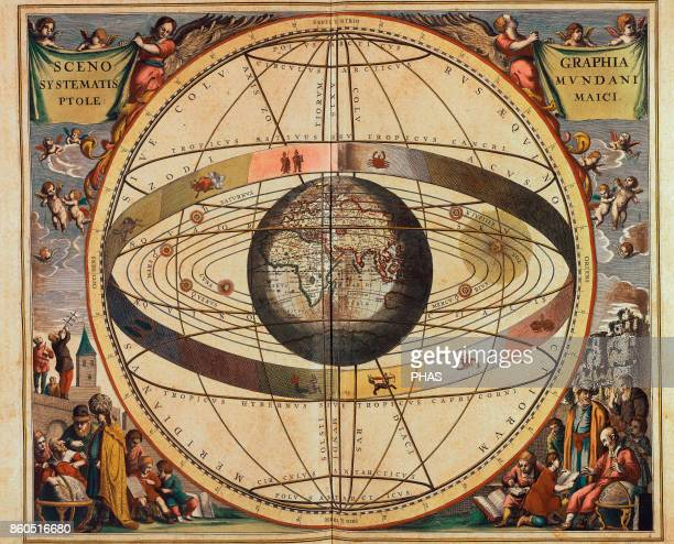 Andreas Cellarius Map of Christian Constellations from The Celestial Atlas or The Harmony of the Universe published by Joannes Janssonius Amsterdam...
