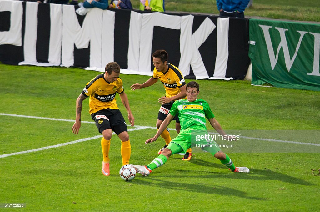 Young Boys Bern v Borussia Moenchengladbach - Uhren Cup