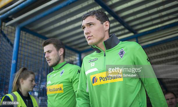 Andreas Christensen of Borussia Moenchengladbachduring the first bundesliga match between SV Darmstadt 98 and Borussia Moenchengladbach at...