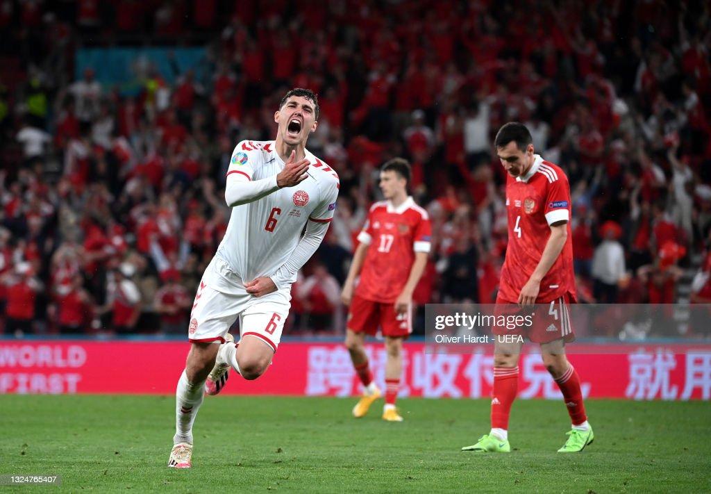 Russia v Denmark - UEFA Euro 2020: Group B : News Photo