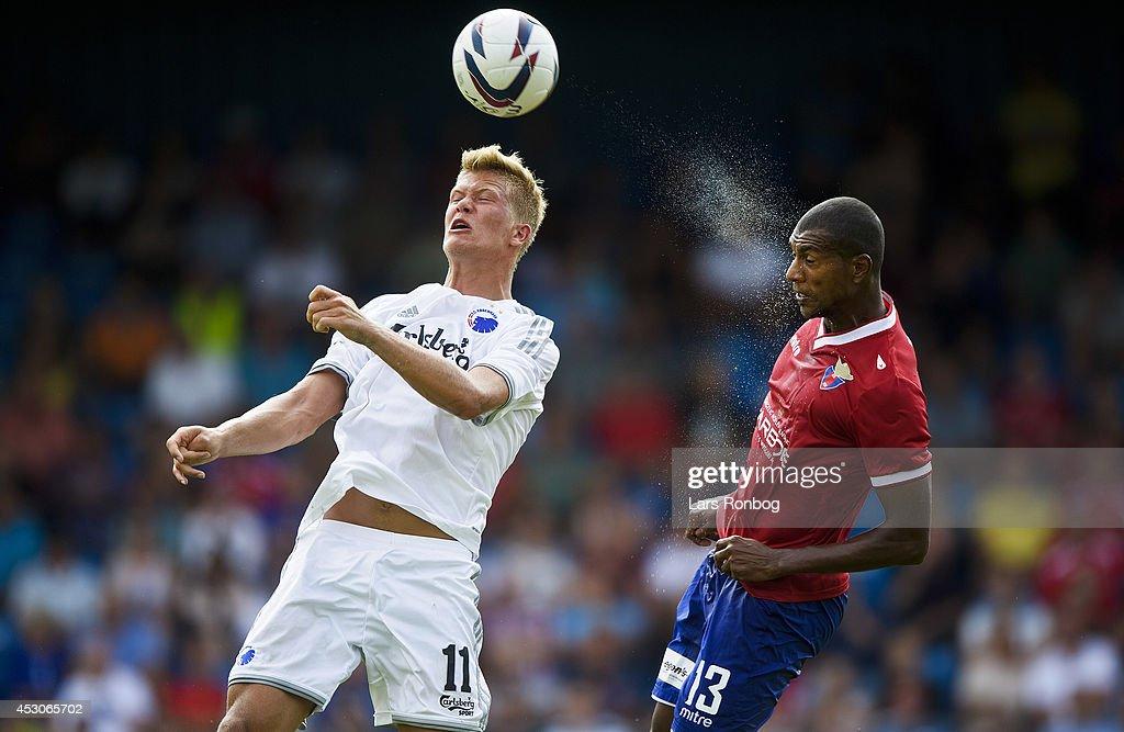 FC Vestsjalland vs FC Copenhagen - Danish Superliga : Foto jornalística