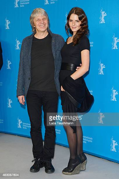 Andreas Dresen and Ruby O. Fee attend the 'As We Were Dreaming' photocall during the 65th Berlinale International Film Festival at Grand Hyatt Hotel...