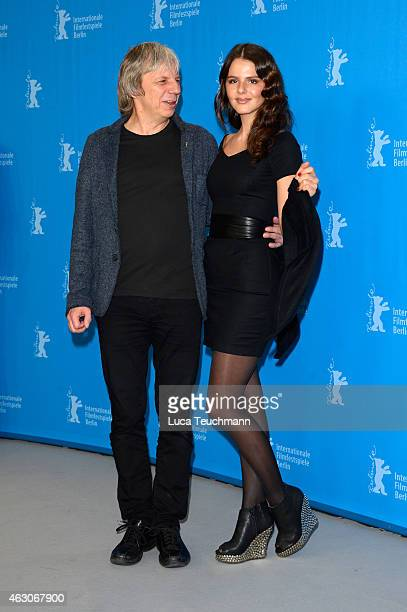 Andreas Dresen and Ruby O Fee attend the 'As We Were Dreaming' photocall during the 65th Berlinale International Film Festival at Grand Hyatt Hotel...