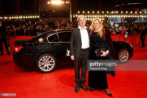 Andreas Dresen and Simone Dresen arrive at the 'The Grandmaster' Premiere - BMW at the 63rd Berlinale International Film Festival at the Berlinale...