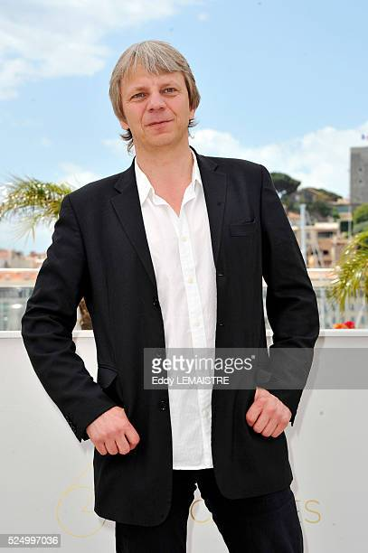"""Andreas Dresen at the photo call for """"Half auf freier strecke"""" during the 64th Cannes International Film Festival."""