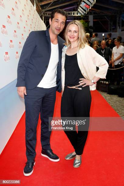 Andreas Elsholz and his wife Denise Zich attend the Raffaello Summer Day 2017 to celebrate the 27th anniversary of Raffaello on June 23 2017 in...
