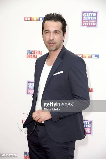 Andreas Elsholz attends the 25th anniversary party of the TV show 'GZSZ' on May 17 2017 in Berlin Germany