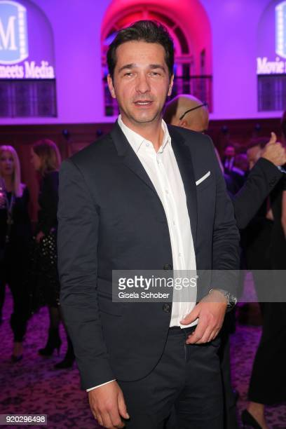 Andreas Elsholz during the Movie Meets Media 'MMM' event on the occasion of the 68th Berlinale International Film Festival at Hotel Adlon on February...