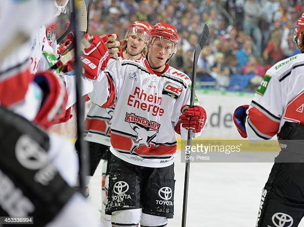 Andreas Falk during a DEL game between Eisbären Berlin and Kölner Haie on december 10 2013 in Berlin Germany