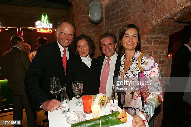 Andreas Fritzenkötter Marietta Andreae Jan Hofer And Inka Schneider When TOnline media meeting 'Talk @ Night' in Hamburg