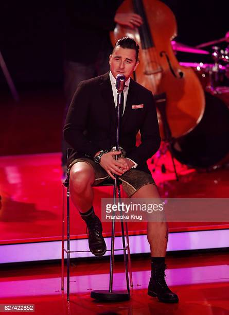 Andreas Gabalier during the Ein Herz Fuer Kinder Gala show on December 3 2016 in Berlin Germany