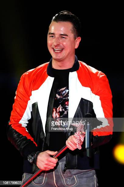 Andreas Gabalier during the television show 'Schlagerchampions Das grosse Fest der Besten' at Velodrom on January 12 2019 in Berlin Germany