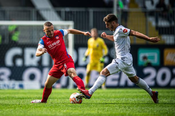 DEU: SV Sandhausen v 1. FC Heidenheim 1846 - Second Bundesliga