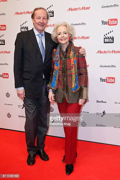 Andreas Graf von Hardenberg and Isa Graefin von Hardenberg attend the 99FireFilmAward 2016 at Admiralspalast on February 18 2016 in Berlin Germany