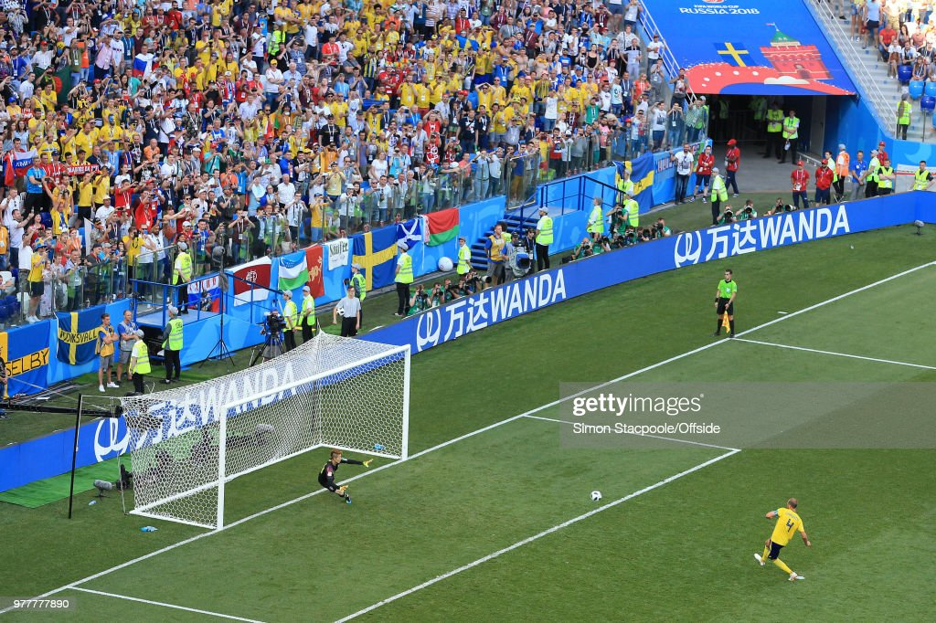 Sweden v Korea Republic: Group F - 2018 FIFA World Cup Russia : News Photo