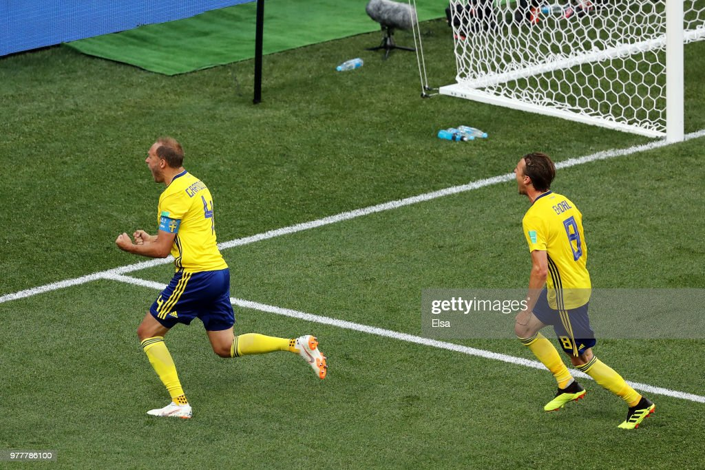 Sweden v Korea Republic: Group F - 2018 FIFA World Cup Russia : News Photo