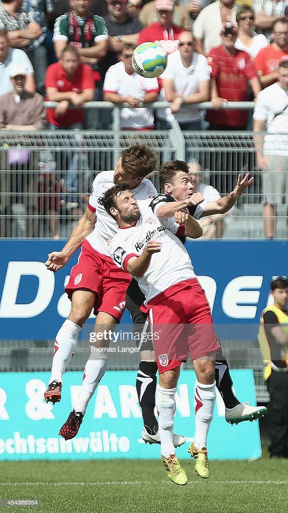 Jahn Regensburg v Energie Cottbus - 3. Liga