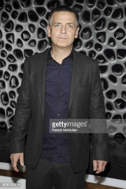 Andreas Gursky attends LARRY GAGOSIAN hosts the ANDREAS GURSKY Opening Exhibition at GAGOSIAN GALLERY at Gagosian Gallery on March 4 2010 in Beverly...