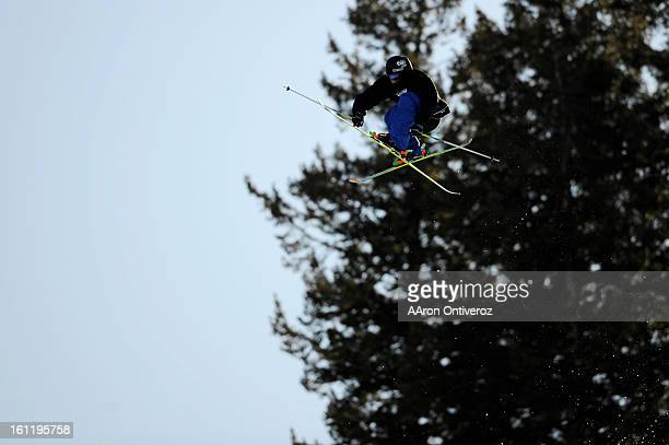 Andreas Hatveit grabs big air during the Winter X Games slopestyle ski final on Saturday January 29 2011 Hatveit finished fifth AAron Ontiveroz The...