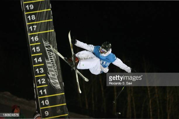 Andreas Hatveit in action during the Skiing superpipe Men's Final at the 2006 Winter X Games 10 in Aspen Colorado on January 31 2006