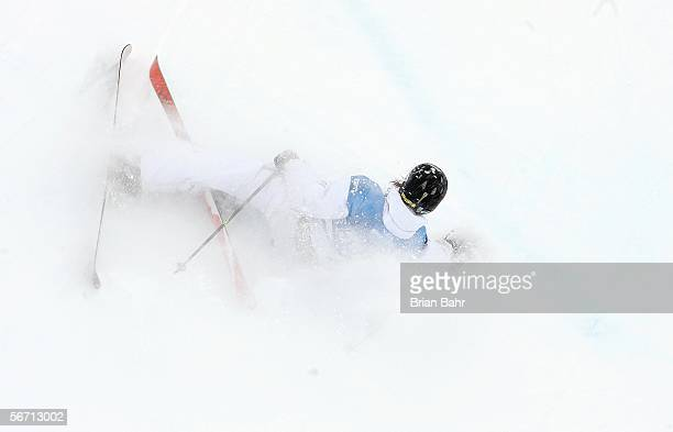 Andreas Hatveit of Norway competes during the Men's Skiing Superpipe Qualifying at Winter X Games 10 on January 31 2006 at Buttermilk Mountain in...