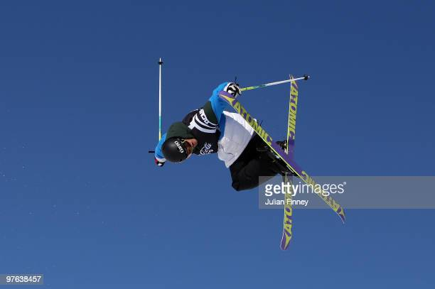 Andreas Hatveit of Norway in action in the Ski Slopestyle during the Winter X Games Europe on March 11 2010 in Tignes France