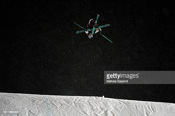 Andreas Hatveit wins the bronze in the Skiing Slopestyle Men's Final with a score of 9200 at the 2012 X Games at Buttermilk Mountain in Aspen CO...