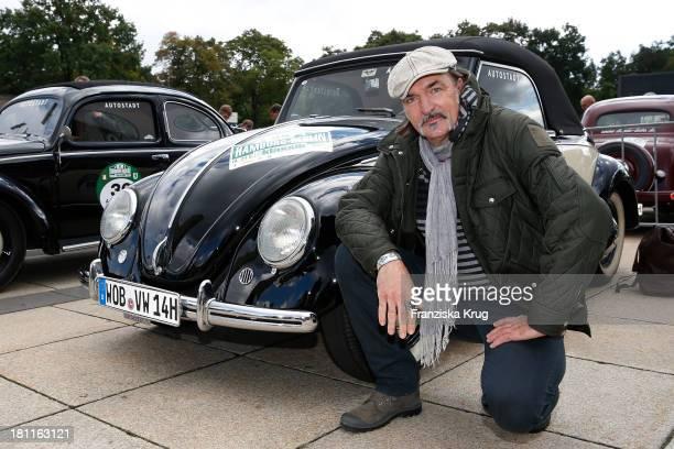Andreas Hoppe attends the HamburgBerlin Klassik Rallye 2013 Day 1 on September 19 2013 in Berlin Germany