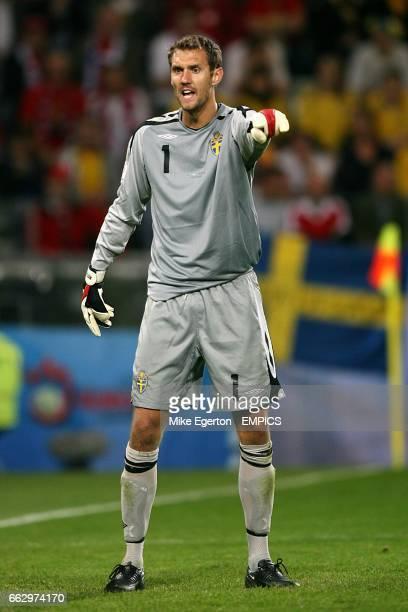 Andreas Isaksson Sweden goalkeeper