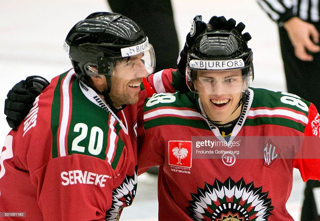 Frolunda Gothenburg v Lulea Hockey - Champions Hockey League Quarter Final : News Photo