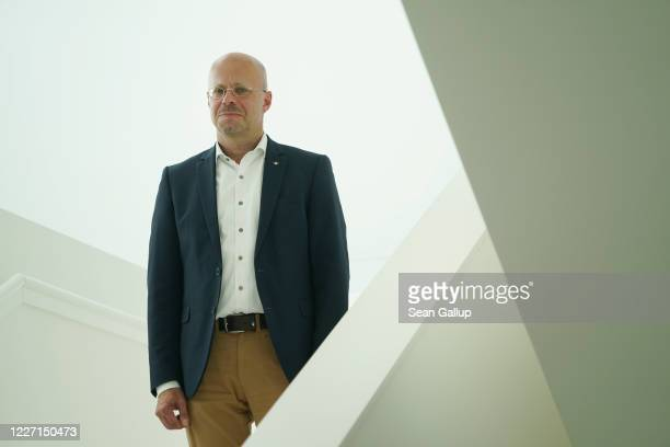 Andreas Kalbitz former member of the rightwing Alternative for Germany political party but still a member of the AfD parliamentary faction of the...
