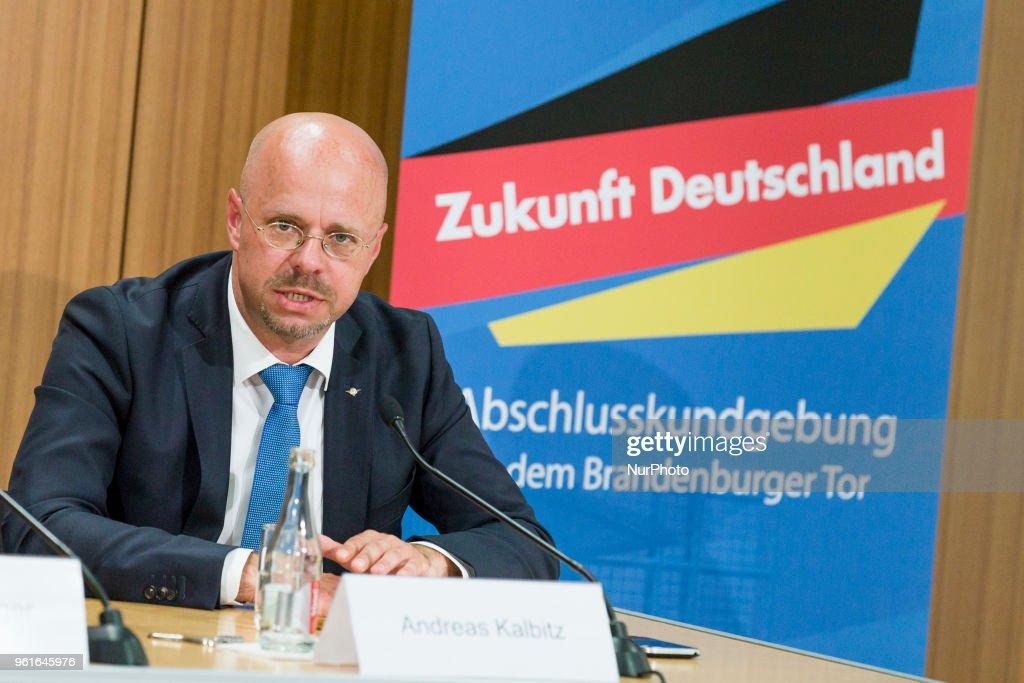 Alternative For Germany Press Conference In Berlin