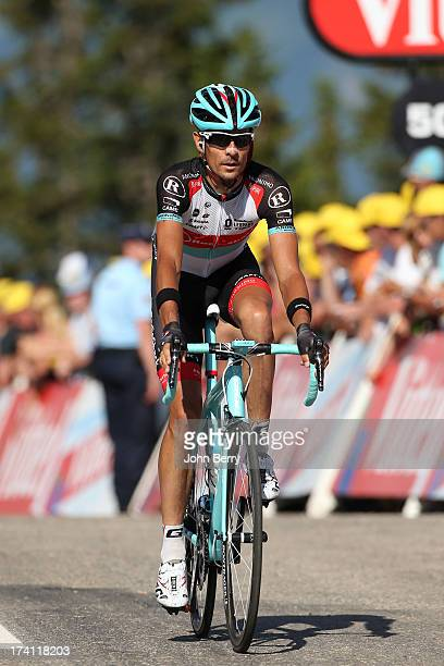 Andreas Kloden of Germany and Team Radioshack Leopard finishes stage twenty of the 2013 Tour de France, a 125KM road stage from Annecy to...