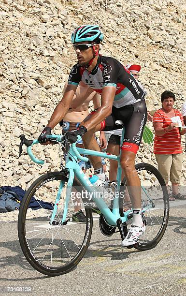 Andreas Kloden of Germany and Team Radioshack Leopard in action during stage fifteen of the 2013 Tour de France, a 242.5KM road stage from Givors to...