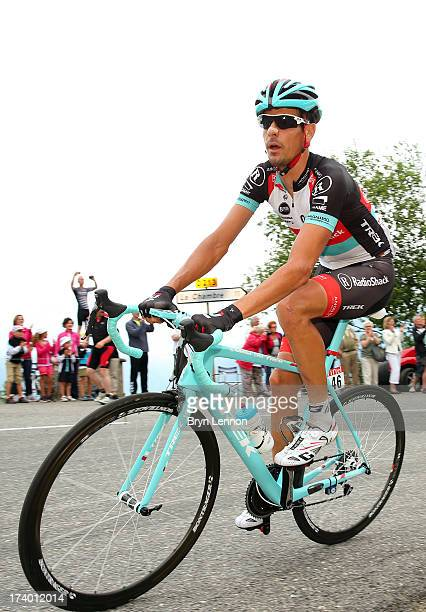 Andreas Kloden of Radioshack Leopard in action during stage nineteen of the 2013 Tour de France a 2045KM road stage from Bourg d'Oisans to Le Grand...