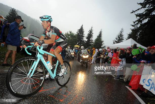 Andreas Kloden of Team Radioshack Leopard during Stage 19 of the Tour de France on Friday 19 July Bourg d'Oisans to Le Grand Bornand France