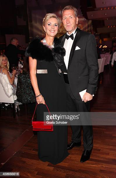 Andreas Koepke and his wife Birgit during the 33 Deutscher Sportpresseball German Sports Media Ball 2014 at Alte Oper on November 08 2014 in...